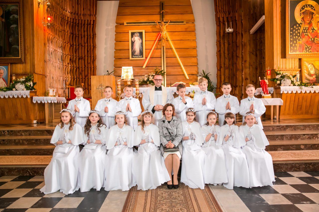 0d5c138d62 Pierwsza Komunia Święta w naszej parafii